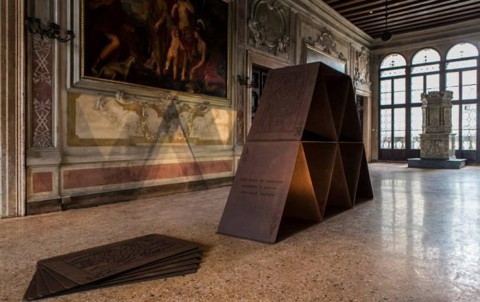 Precariousness of History, 2015, Metal, Dimensions variable
